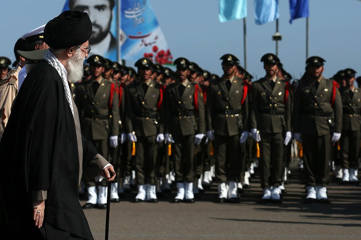 """صورة """"البيت الزجاجي"""" مقر إيراني قرب دمشق لإدارة الحرب"""
