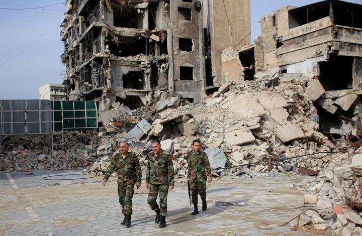 """صورة """"هآرتس"""" الإسرائيلية: ماذا سيحدث بعد سقوط حلب؟"""