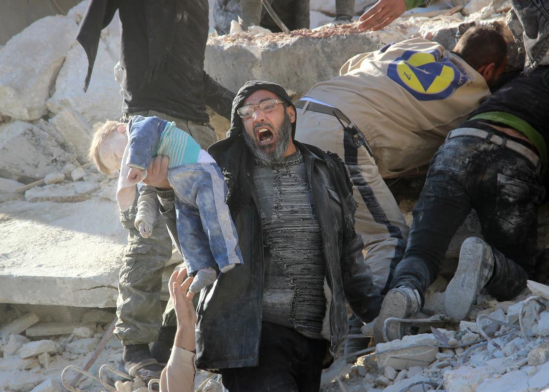 صورة حلب تواجه خطر الإبادة ودعوات لايقاف المجازر