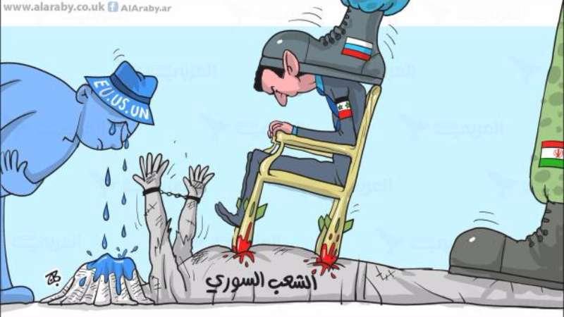 صورة عن الثورة واختراقها والعودة لحضن بشار!