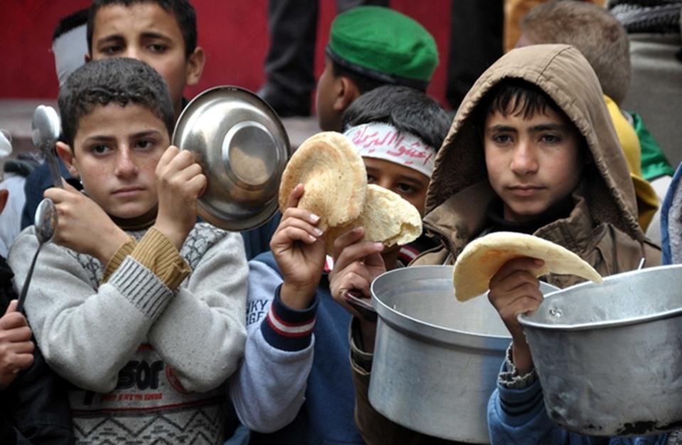 صورة 500 ألف طفل سوري محاصرين .. وحياتهم كابوس