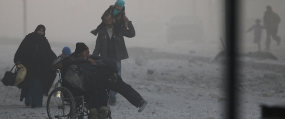 صورة المدنيون في حلب: ندعو إلى الله أن نلقى الموت بدلاً من الإصابة