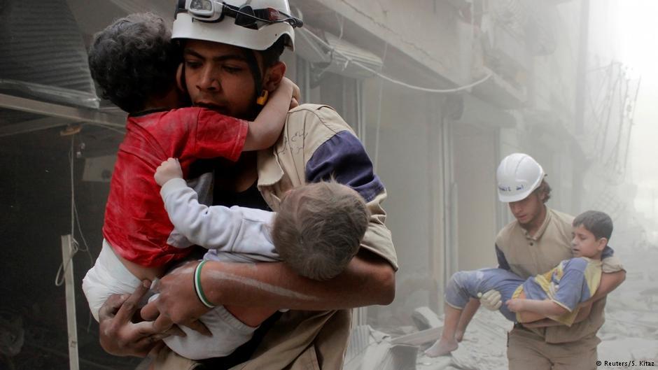 صورة صحف ألمانية: التاريخ في سوريا يكتب بالدم