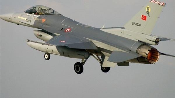 صورة سقوط مقاتلة تركية في دياربكر