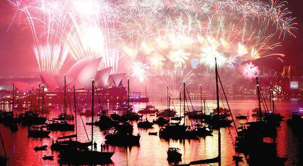 صورة تعرف على طرائف احتفالات شعوب العام برأس السنة