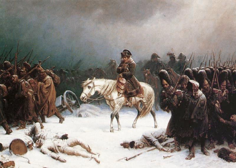 صورة الفلاح الروسي ونابليون