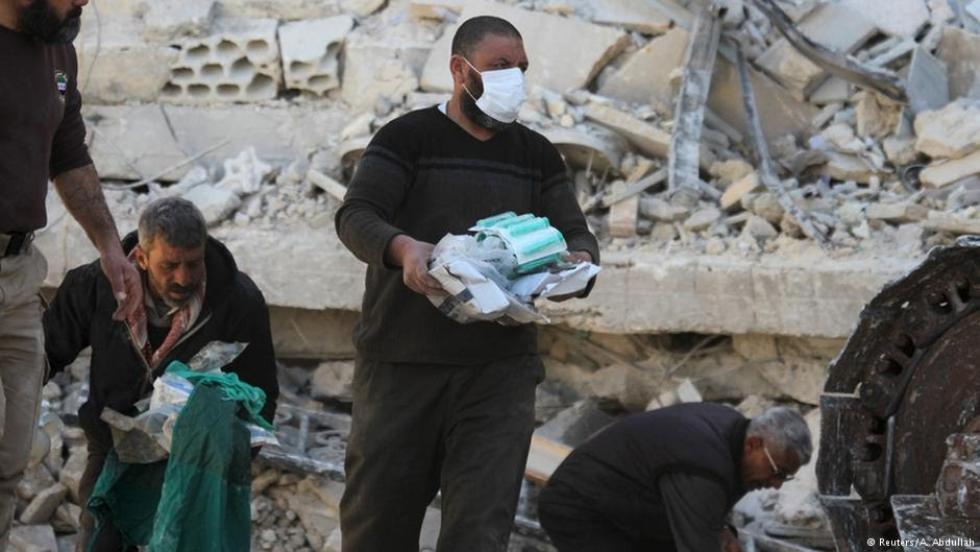 صورة أطباء بلا حدود: حلب تخلو من الدواء والمعدات