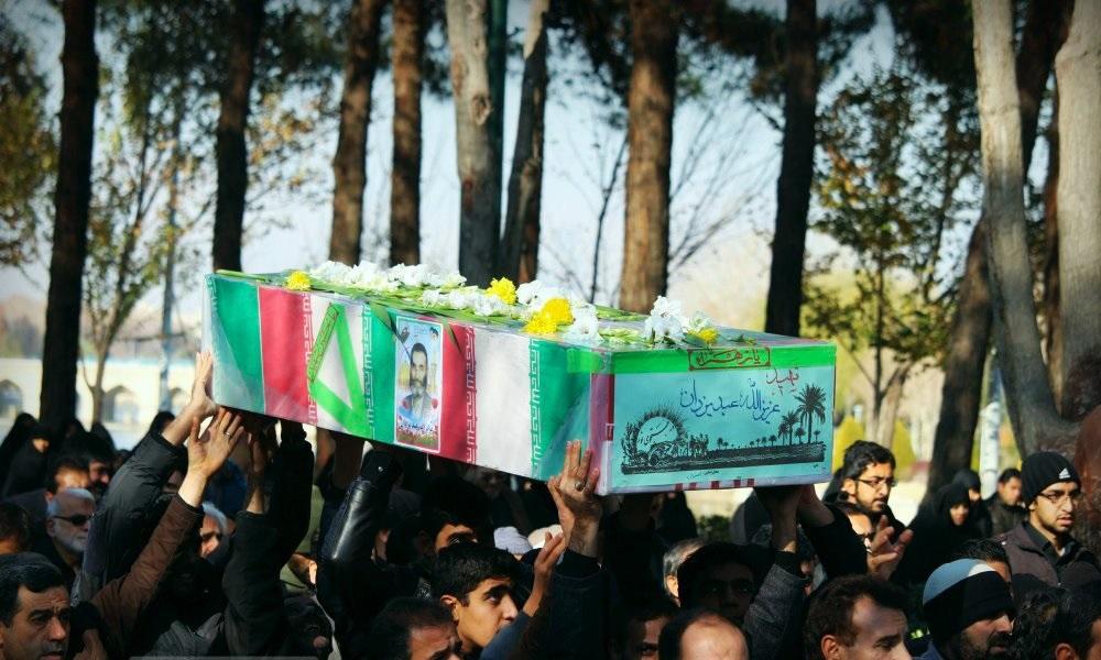 صورة مقتل 50 جامعي من الباسيج في سوريا