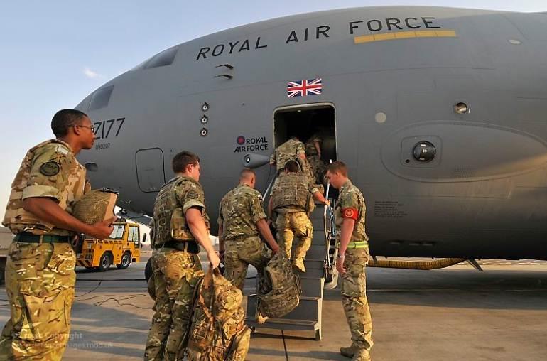 """صورة بريطانيا ستدرب """"قسد"""" وتزيد كثافة ضرباتها الجوية"""