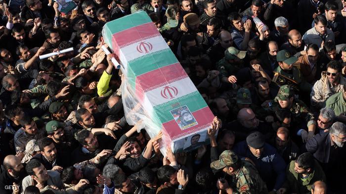 """صورة """"غلام"""" أول جنرال إيراني يُقتل بسوريا عام 2017"""
