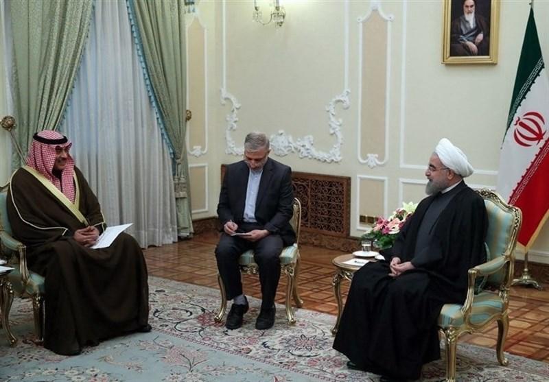 صورة وساطة كويتية لحل الخلاف الإيراني السعودي