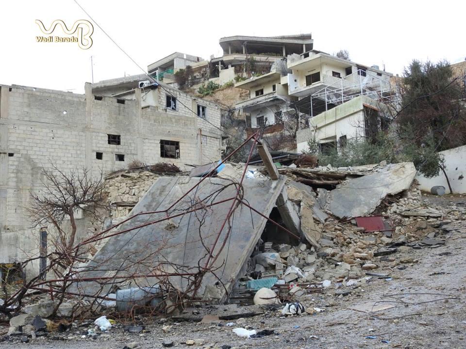 صورة حرس الأسد الجمهوري يرتكب مجزرة في وادي بردى