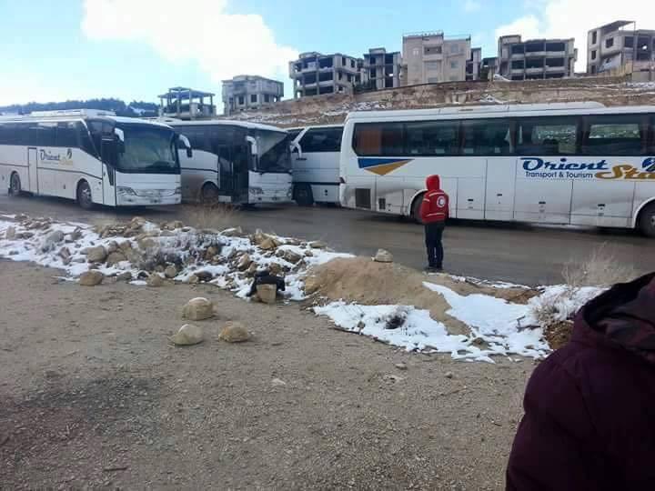 صورة بوساطة ألمانية..وادي بردى للأسد والمعارضة إلى إدلب