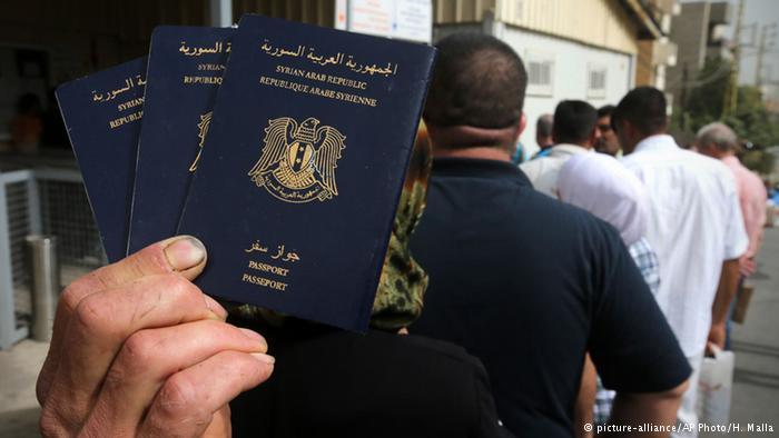 صورة ألمانيا تحقق..سفارة الأسد تبيع جوازات لغير السوريين