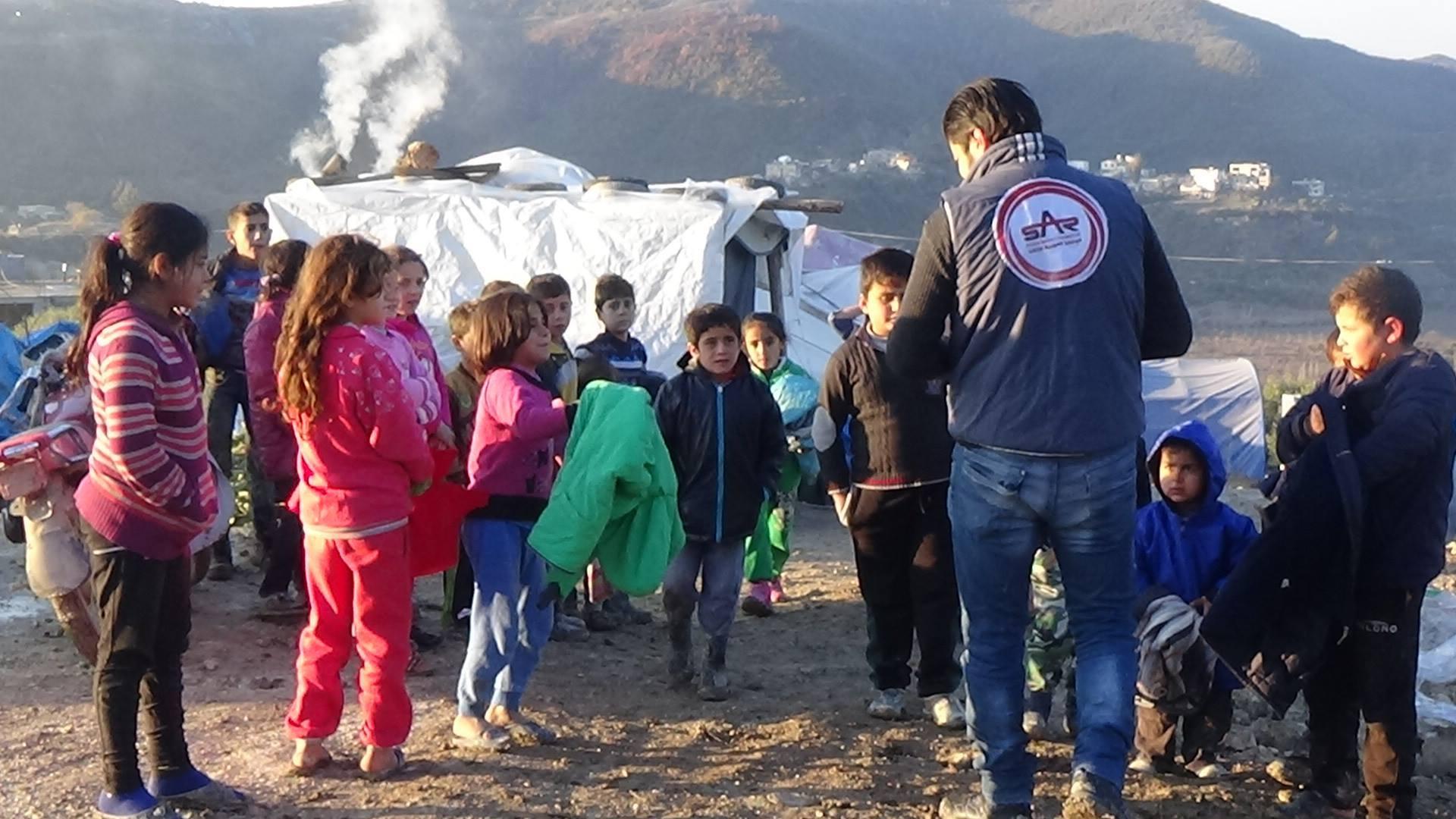 صورة دفونا..حملة إغاثية تستوعب 5000 طفل سوري