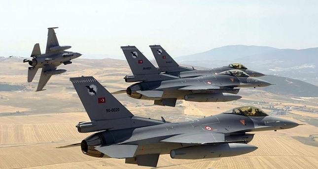 صورة الأركان التركية: مقتل 11 من تنظيم الدولة بغارات جوية
