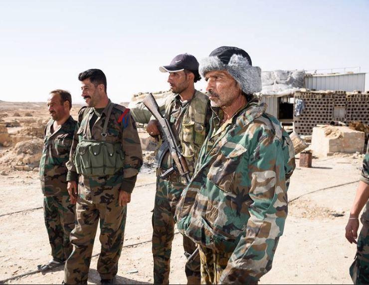 صورة تنظيم الدولة يتقدم بدير الزور والنظام يجند
