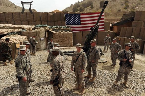 صورة قاعدة عسكرية أمريكية جديدة في سوريا