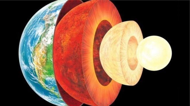"""صورة علماء يعثرون على """"العنصر المفقود"""" في نواة الأرض"""