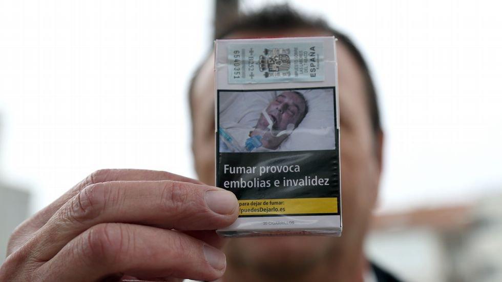 صورة ماذا لو وجدت صورة أحد أقرباء على علبة سجائر؟