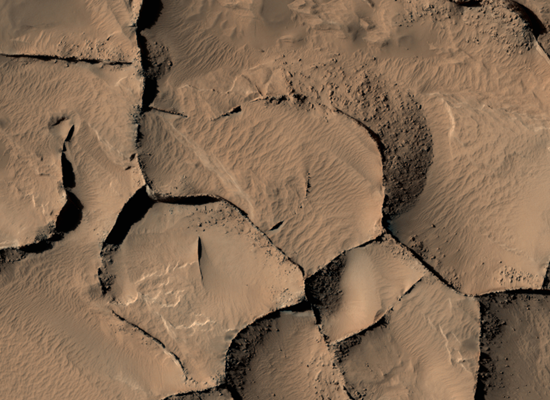 """صورة """"ناسا"""" تعثر على أبنية في المريخ من 16 طابق"""