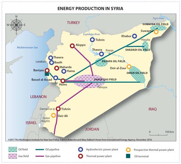 """صورة الأسد بحاجة ماسة إلى سوريا غير المفيدة """"النفط"""""""