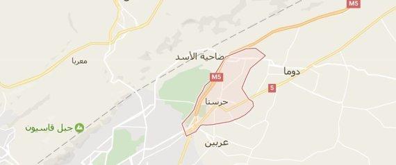 صورة بينهم ضابط.. خسائر بشرية للأسد بتفجير نفق بدمشق