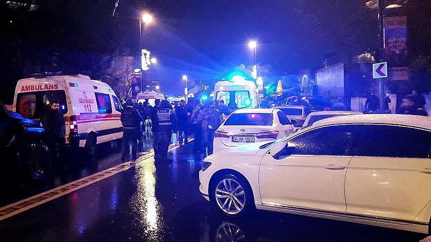 صورة هجوم مسلح على مقهى بإسطنبول