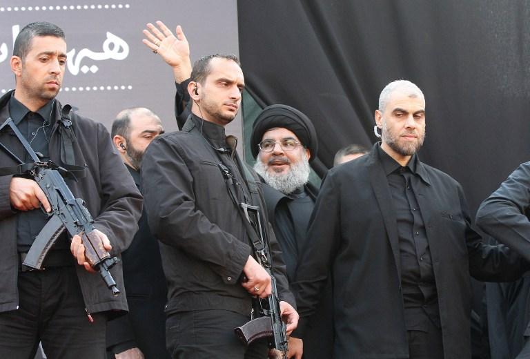 صورة نصر الله من قاتل طائفي إلى حمامة سلام!