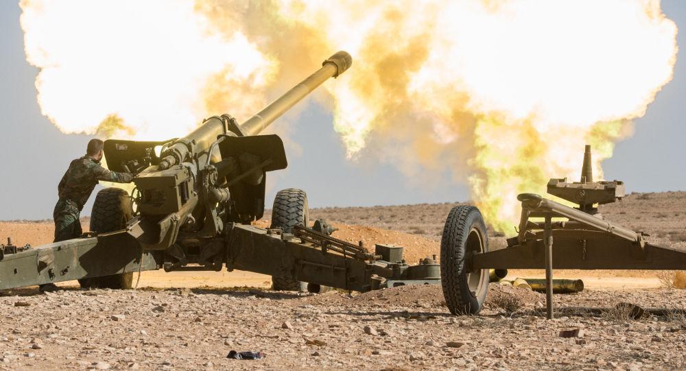 صورة مقتل 30 عنصر للأسد في ريف حمص