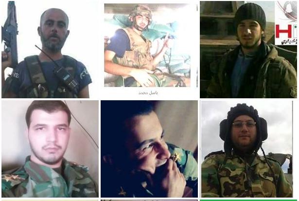صورة بالأسماء: توثيق مقتل 31 ضباط في تفجير حمص