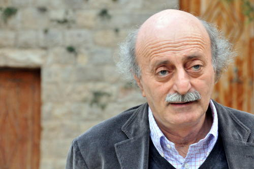 """صورة جنبلاط: تصريحات """"لوبان"""" إهانة للبنانين والسوريين"""