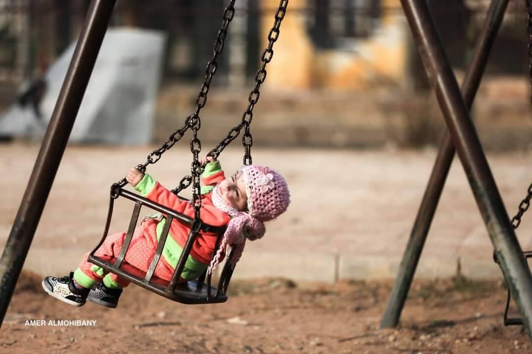 صورة البرد يقتل عدة أطفال في الغوطة الشرقية