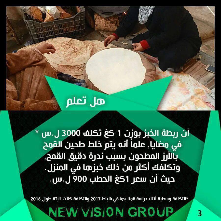 صورة مضايا وبقين وحلم رغيف الخبز