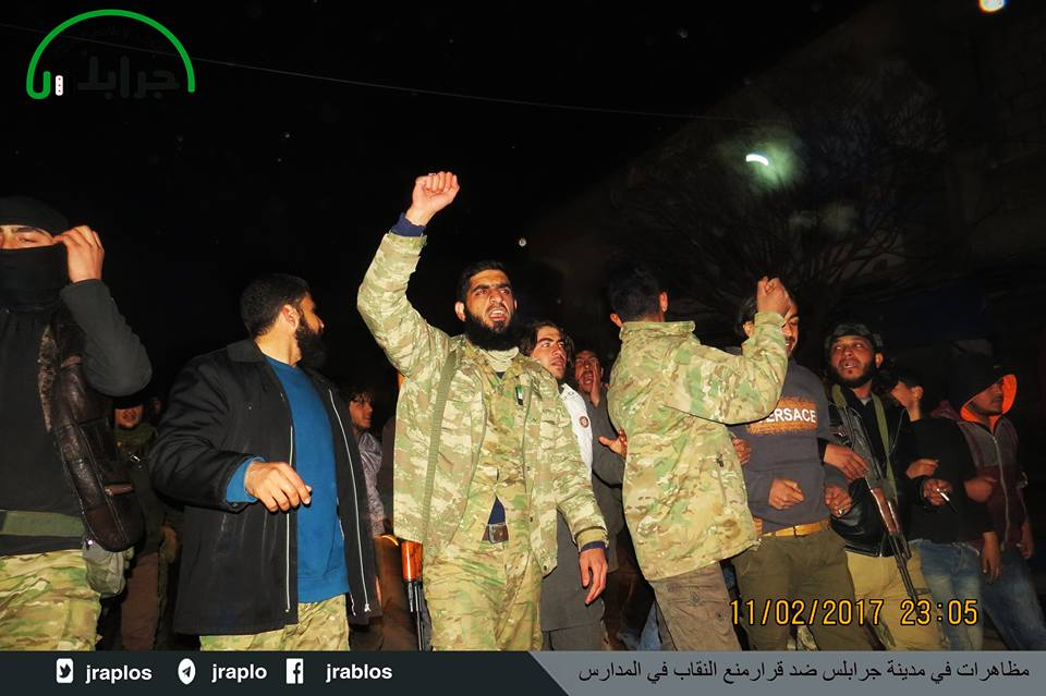 صورة أمنية جرابلس تعتقل رئيس مجلسها المحلي والفصائل تعزله