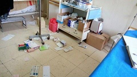 صورة هيئة تحرير الشام تداهم مشفى وتعتقل مديره بإدلب