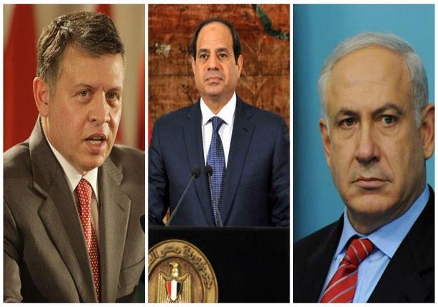 صورة هاآرتس: قمة سرية جمعت إسرائيل مع مصر والأردن