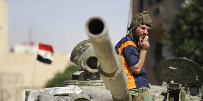 صورة عناصر الأسد: هرمنـا..وحميميم ترد: ما في تسريح!