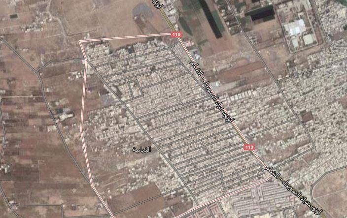 صورة عائلات شيعية تحتل منازل لاجئين فلسطينيين بريف دمشق