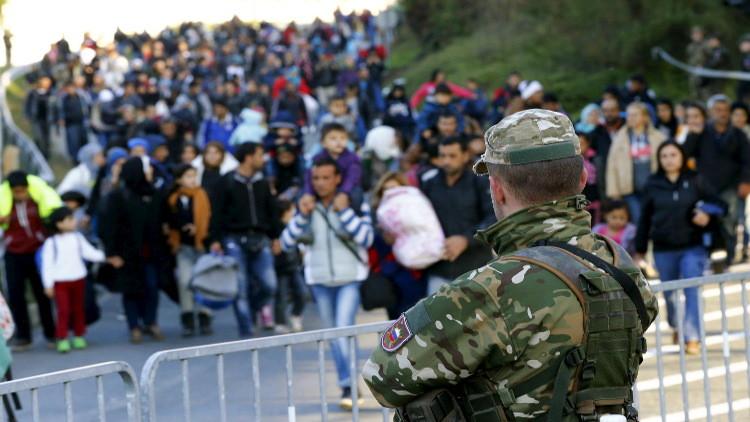 صورة السويد تعيد لاجئ فلسطيني سوري إلى اليونان