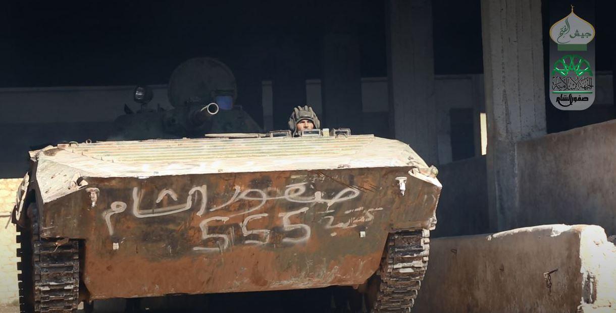 صورة صقور الشام تعلق مشاركتها بالمفاوضات السياسية