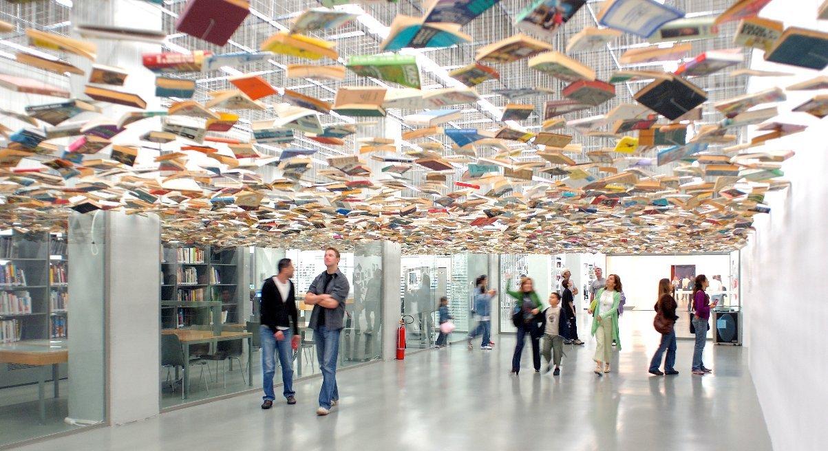 صورة بـ 5 ملايين كتاب..مكتبة رئاسية داخل المجمع الرئاسي التركي