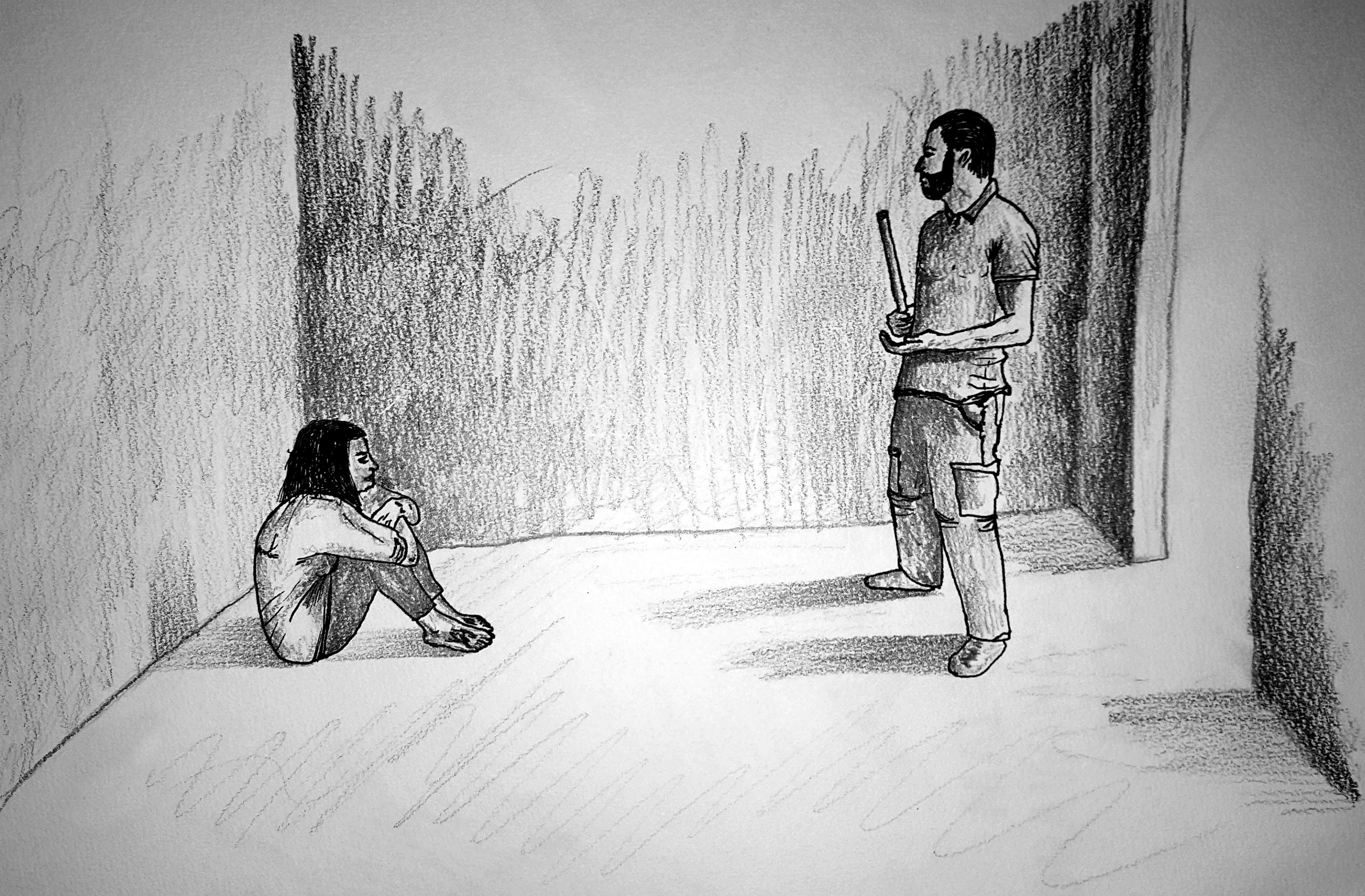 صورة في فرع فلسطين..فلسطينية اغتصبوها ثم سجنوها مع جثث متفسخة