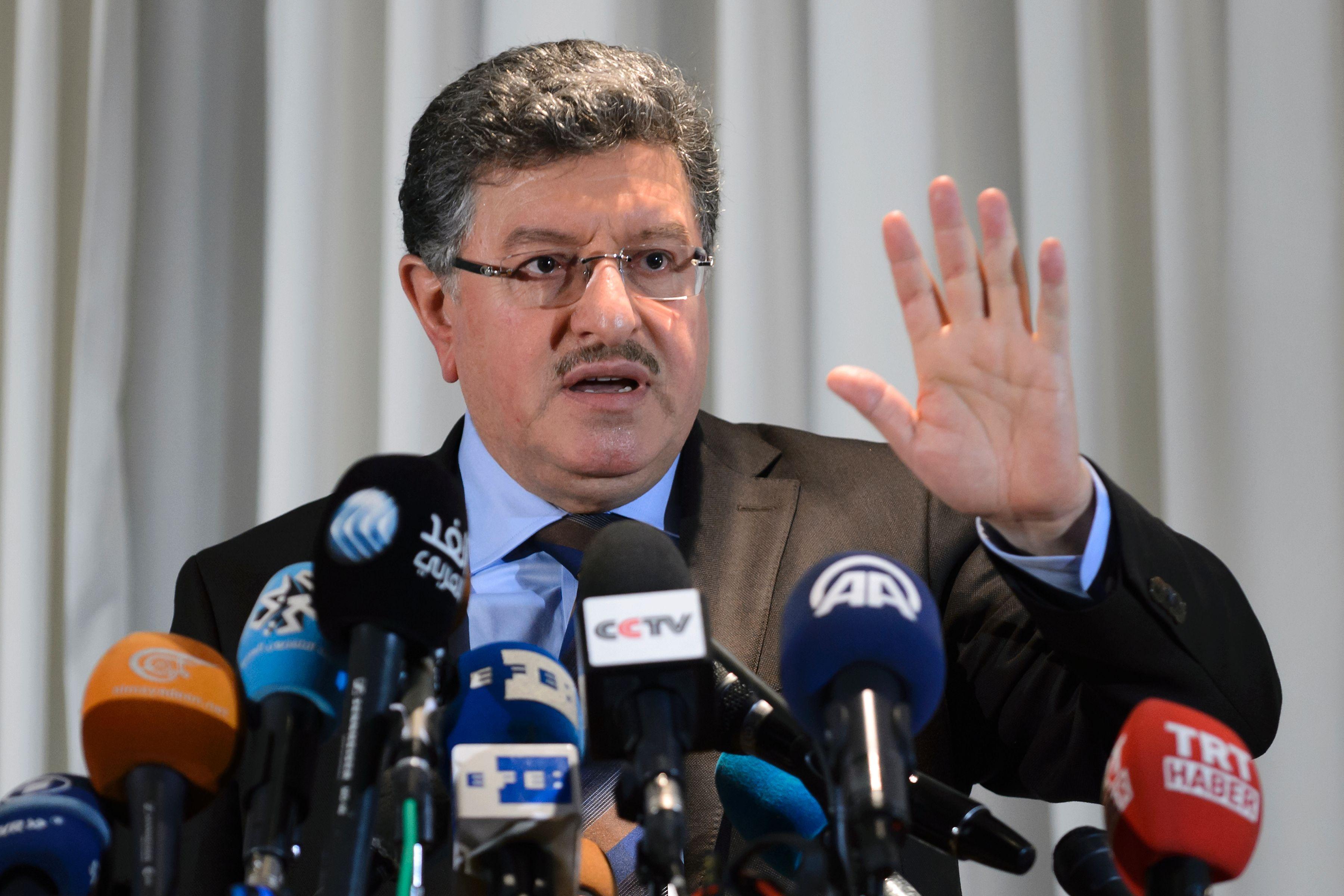 صورة هيئة التفاوض: سنناقش الانتقال السياسي في جنيف