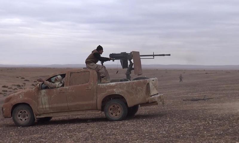 صورة تقرير أممي..تنظيم الدولة في وضع دفاعي