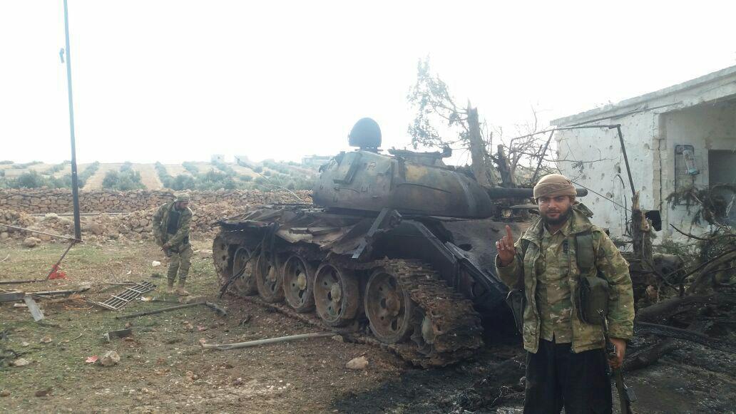 صورة درع الفرات تصطدم مع الأسد وتكبده خسائر عسكرية