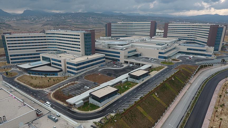 صورة أردوغان يفتتح أول مدينة طبية في تركيا