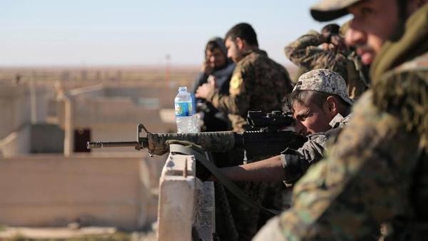 صورة الرقة..تحضيرات أمريكية كردية لتشكيل حكومة محلية