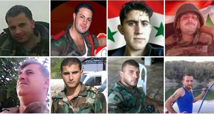 صورة احصاء: مصرع 137 ضابط للأسد خلال 3 أشهر