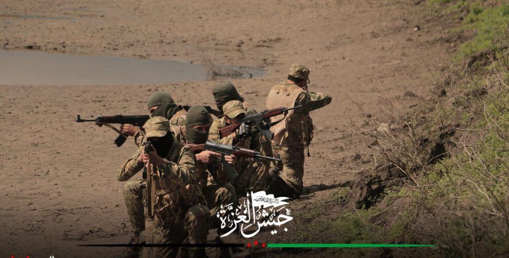 صورة تقدم عسكري متسارع يحرزه الثوار بريف حماة
